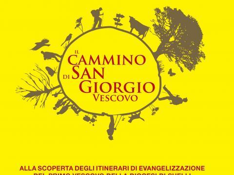 copertina della guida del CAMMINO DI SAN GIORGIO