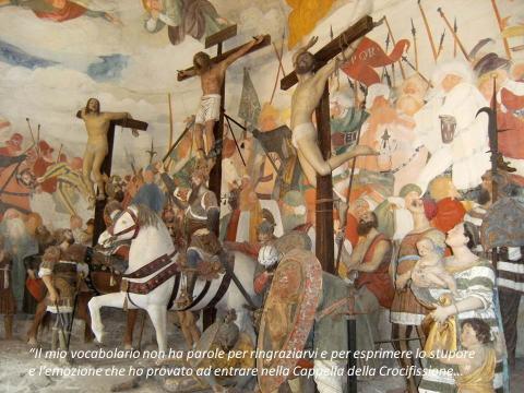 Il commerto di Gérard al Sacro Monte  di Varallo, Cappella della Crocifissione