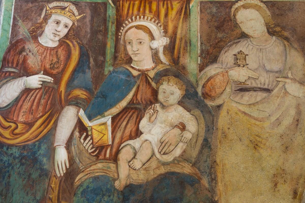 affreschi in S.Alessandro
