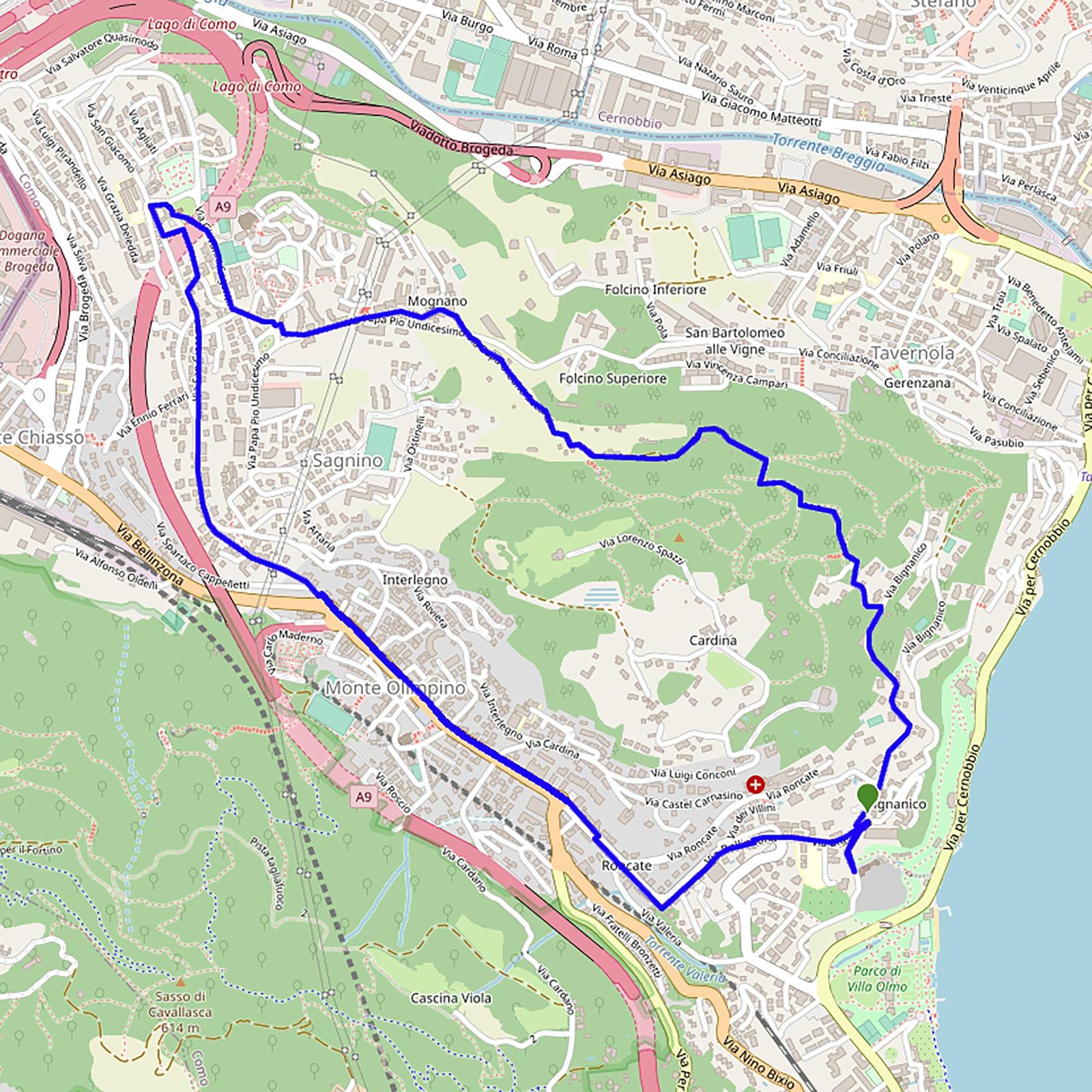 mappa 24 luglio
