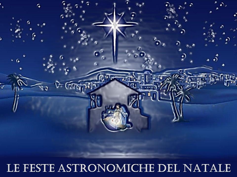 le feste astronomiche del natale