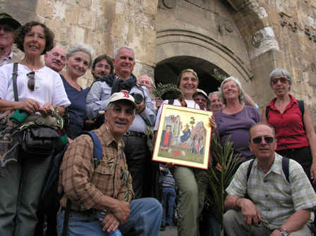 Arrivo a Gerusalemme